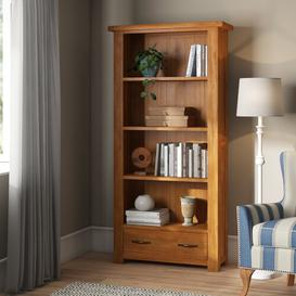 image-Hairston Wide 180cm Standard Bookcase Gracie Oaks