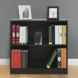image-Thibodeau Bookcase Ebern Designs Colour: Black