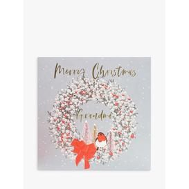 image-Belly Button Designs Wreath Grandma Christmas Card