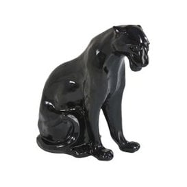 image-Shiny Black Panther Ornament H70