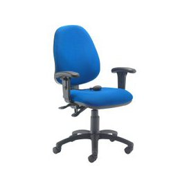 image-Orchid Lumbar Pump Ergonomic Operator Chair With Height Adjustable Arms, Charcoal, Free Standard Delivery