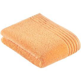 image-Vienna Style Supersoft Bath Towel (Set of 2) Vossen Colour: Apricot