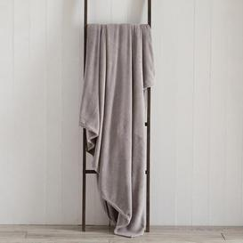 image-Seriously Soft 180cm x 230cm Throw Grey