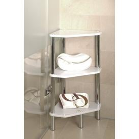 image-Bellisima 46 x 77cm Bathroom Shelf Metro Lane