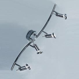 image-SP8824 Scion Chrome Bathroom Ceiling Spot Lights, IP20
