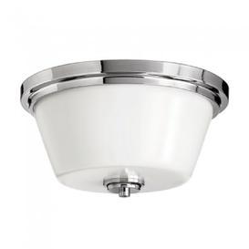 image-HK/AVON/F BATH Avon 2 Light Bathroom Polished Chrome Flush Mount  Light