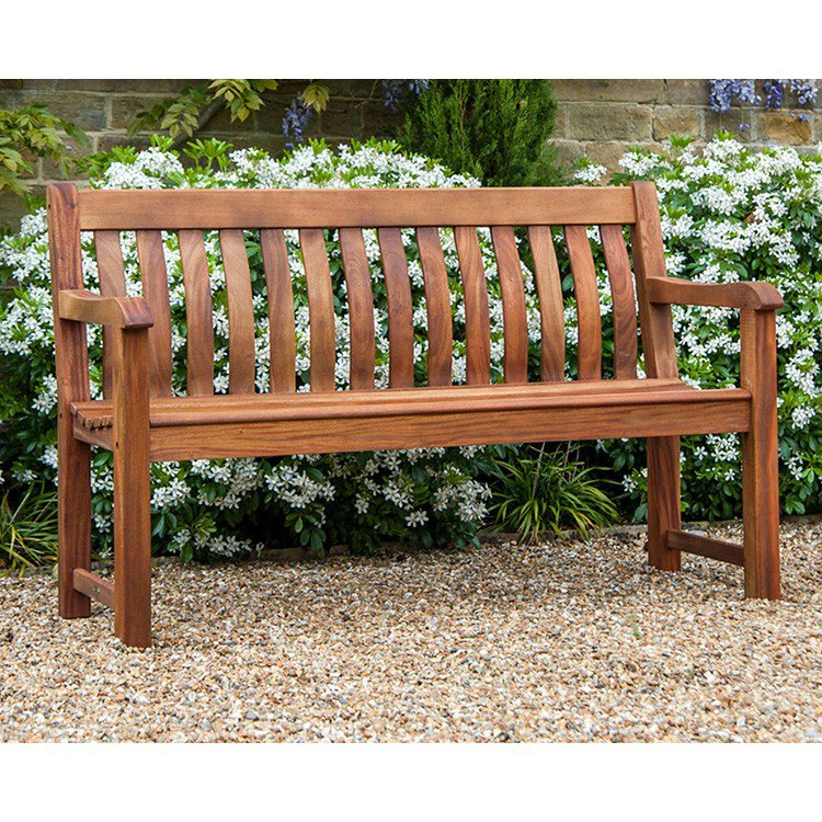 image-Alexander Rose Garden Furniture Cornis St George Bench 5ft