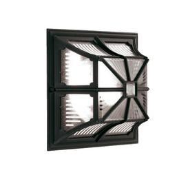 image-Elstead CP12 BLACK Chapel Exterior Flush Wall Light Wall Lantern In Black
