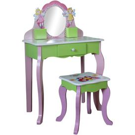 image-Garden Friends Dressing Table Set with Mirror Just Kids