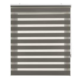 image-Lira Semi-Sheer Roller Blind Brayden Studio Finish: anthracite, Size: 180x180