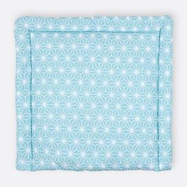 image-White Diamonds Changing Mat KraftKids Size: 70cm H x 75cm W x 4cm D, Colour: Turquoise