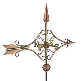 image-Briarhill Victorian Arrow Weathervane Sol 72 Outdoor