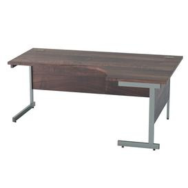 image-Derry Corner Desk Mercury Row Finish: Walnut, Size: 72.5 cm H x 180 cm W x 120 cm D