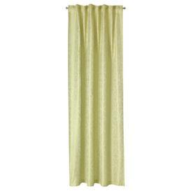 image-Marlin Scarf Slot Top Room Darkening Curtain Brayden Studio Colour: Green
