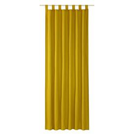 image-T-Dove Tab Top Room Darkening Single Curtain Tom Tailor Colour: Sun