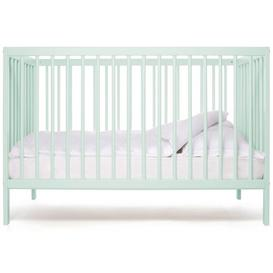 image-Mini Cot Bed Mokee Colour: Dusty aqua