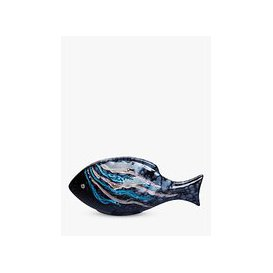 image-Poole Pottery Celestial Fish Ornament, Single