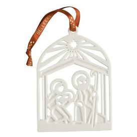 image-Christmas Nativity Hanging Figurine Belleek Home