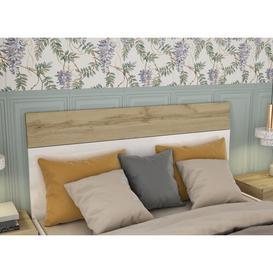 image-Bayer 4 Piece Bedroom Set Brayden Studio Headboard Size: 111cm H x 144.4cm W