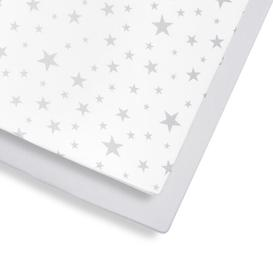 image-Fitted Cot Sheet Snuz