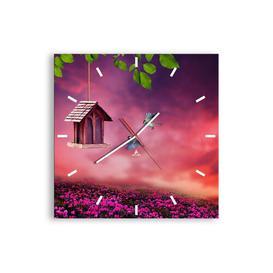 image-Varshini Silent Wall Clock Brayden Studio Size: 50cm H x 50cm W x 0.4cm D