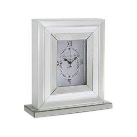image-33cm Paris Table Clock White Clear / Clear