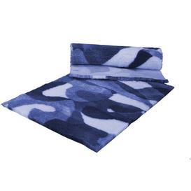 image-Ulysses Mat Archie & Oscar Size: 3cm H x 91cm W x 91cm D, Colour: Blue/White