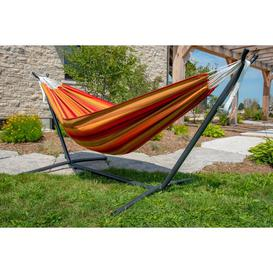 image-Tessa Double Hammock with Stand Freeport Park Colour: Sunset
