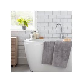 image-Hotel Egyptian Silver Bath Sheet Silver