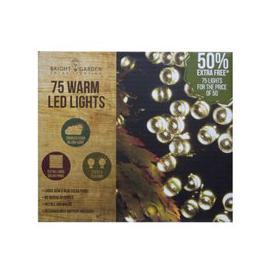 image-Bright Garden 50Pk Warm White Solar Lights +50% Free