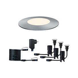 image-Plug & Shine 3 Light LED Deck Light Paulmann Colour Temperature: 3000K