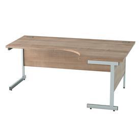 image-Derry Corner Desk Mercury Row Finish: Birch, Size: 72.5 cm H x 160 cm W x 80 cm D
