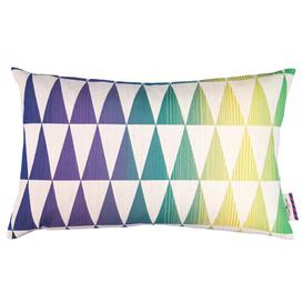 image-T-Magic Bolt Cushion Cover Tom Tailor Colour: Purple/Blue/Yellow