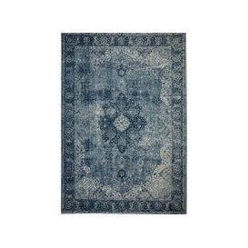 image-Mila Traditional Rug Blue and Grey