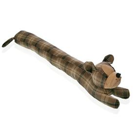 image-Mitzi Dog Fabric Draught Excluder Union Rustic