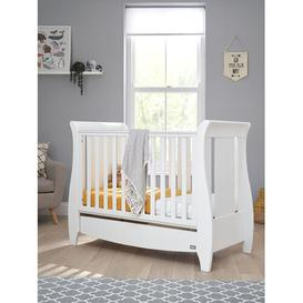 image-Katie Space Saving Cot Bed Tutti Bambini Colour: White