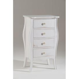 image-Comeaux 4 Drawer Chest of Drawers Fleur De Lis Living
