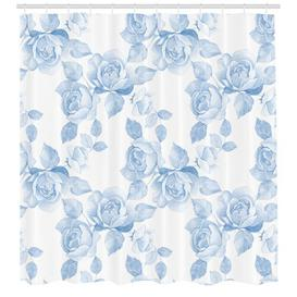 image-Roses Polyester Shower Curtain East Urban Home Size: 180cm H x 175cm W