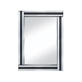image-Black Stripe 60x80 Rectangle Mirror