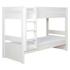 image-Pongo Kids' White Eu Single Detachable Bunk Bed 90Cm, White