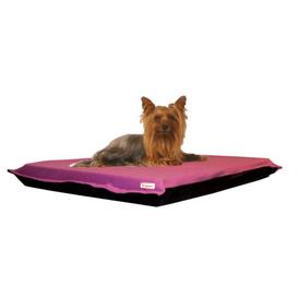 image-Dog Bed Pillow in Baby Pink Kosipet Size: 10cm H x 135cm W x 83cm D