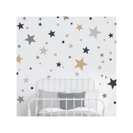 image-little home at John Lewis Stardust Wall Stickers, Multi
