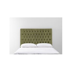image-Gloria 3' Single Size Headboard in Juniper Green