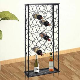 image-Satyana 28 Bottle Wine Rack Rosalind Wheeler
