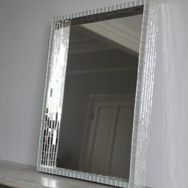image-Chula Rectangular Mirror Canora Grey Finish: Gold, Copper and Aliminium