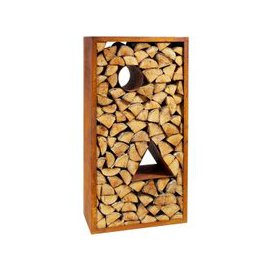 image-Rectangular Log Rack - Large