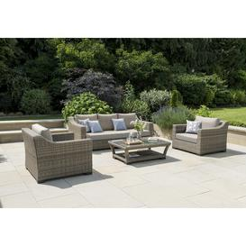 image-Trilby 4 Seater Rattan Sofa Set Sol 72 Outdoor