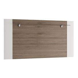image-Toronto Rear Wall Fitting for TV Cabinet White