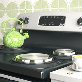 image-Sydnor 4 Piece Oven Protector Cover Set Wayfair Basics