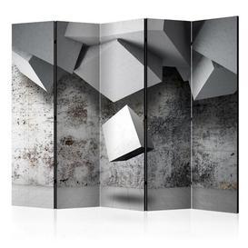 image-Bandini 5 Panel Room Divider Ebern Designs